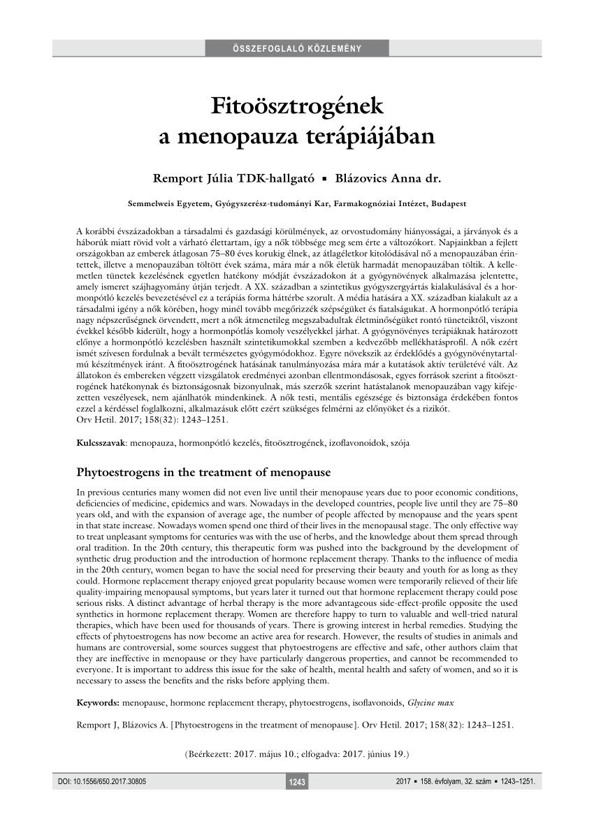 endometrium rák menopauza)