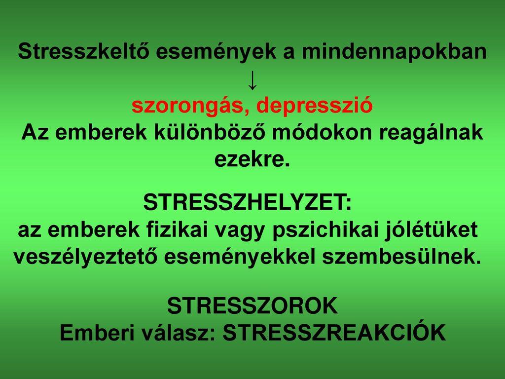 Stressz és stresszkezelés