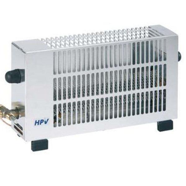HPV Heatbox Sátorfűtés - inox - Vízparti kényelem, megjelenés - Kempingezés kellékei