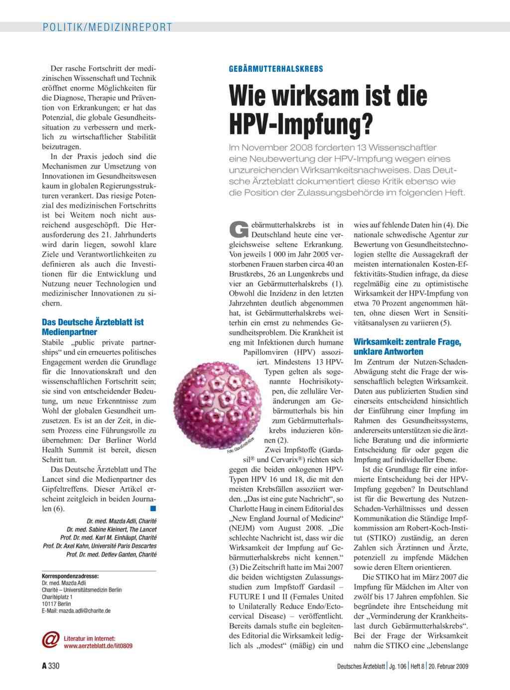 papilloma impfung kosten)