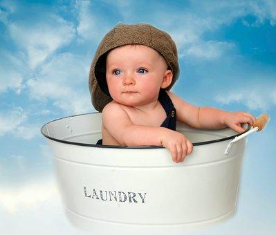 csecsemők takarítása)
