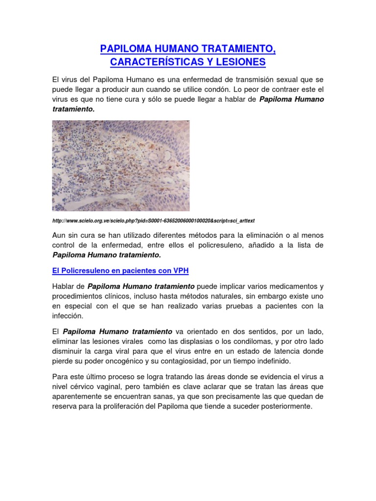 papilloma vírus látencia)