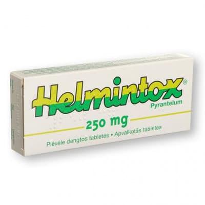helmintox és fluvermális méregteleníti a vastagbél calivita-t