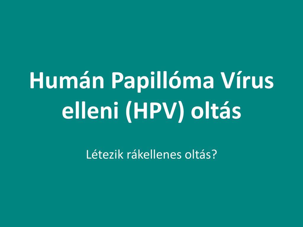 humán papillomavírus elleni vakcina immunitás