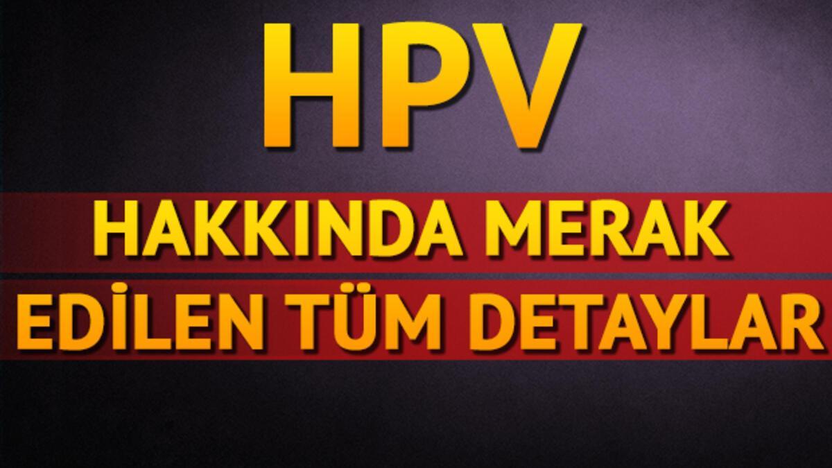 hpv vírus nedir erkek