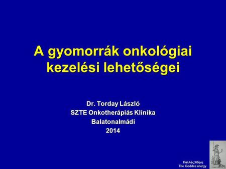 gyomorrák emedicin)