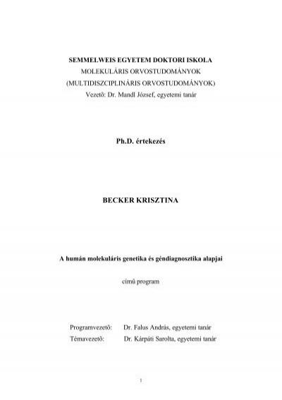 A belgyógyászat alapjai 2. | Digitális Tankönyvtár