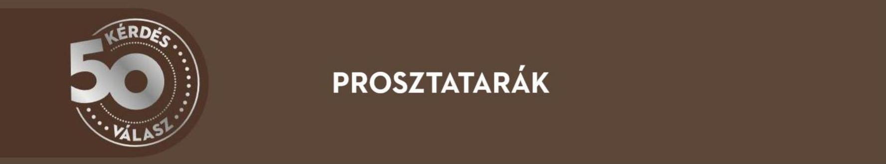 prosztatarák bevezetése)