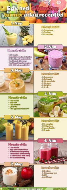 7 nap vastagbél méregtelenítő étrend