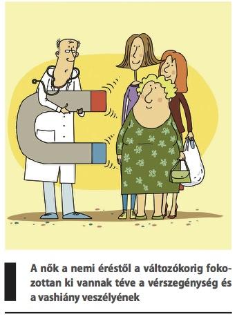 Vashiányos vérszegénység tünetei, vizsgálata és kezelése
