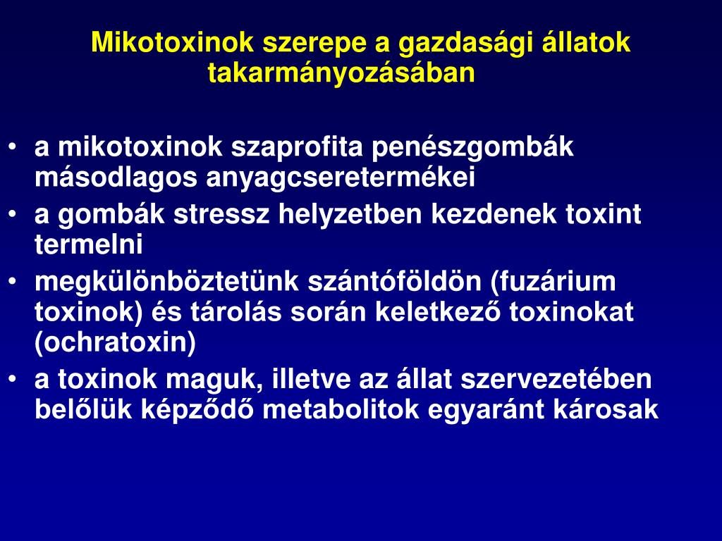 fuzárium toxinok)