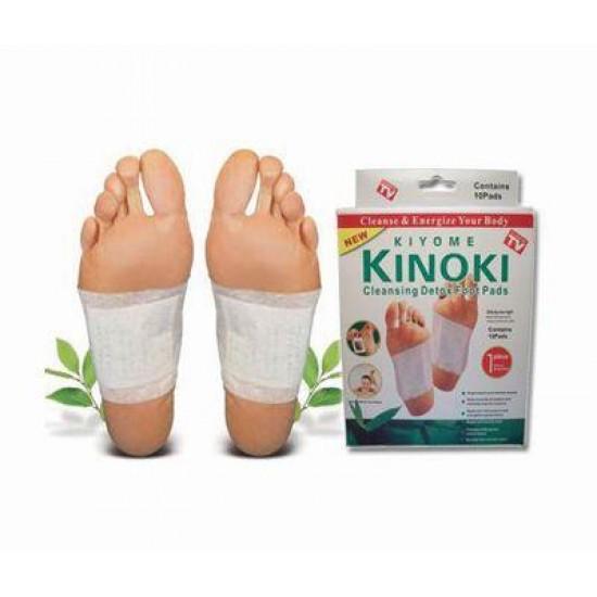 Kinoki lábtapasz 1 csomag (10 db) - Méregtelenítsd szervezet